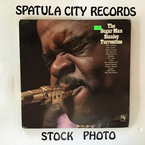 Stanley Turrentine - The Sugar Man - vinyl record LP