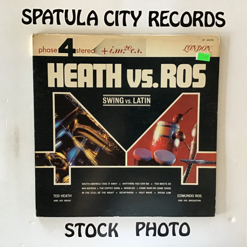 Ted Heath and His Music and Edmudo Ros and His Orchestra - Heath Vs. Ros - vinyl record LP