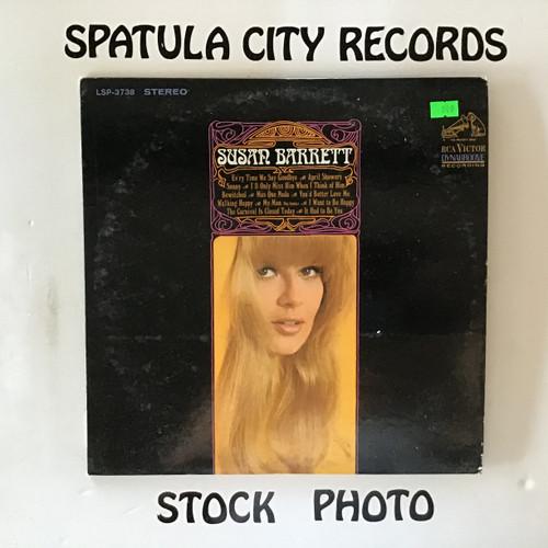 Susan Barrett - Susan Barrett - vinyl record LP