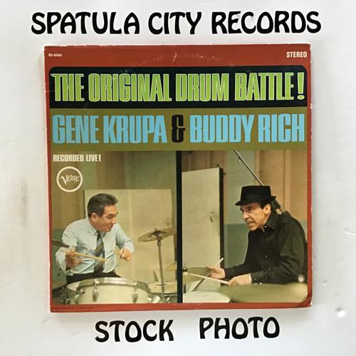 Gene Krupa and Buddy Rich - The Original Drum Battle - vinyl record LP