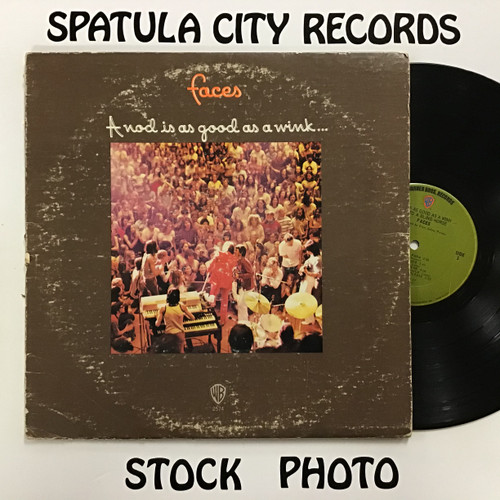 Faces - A nod's as good as a wink - vinyl record LP