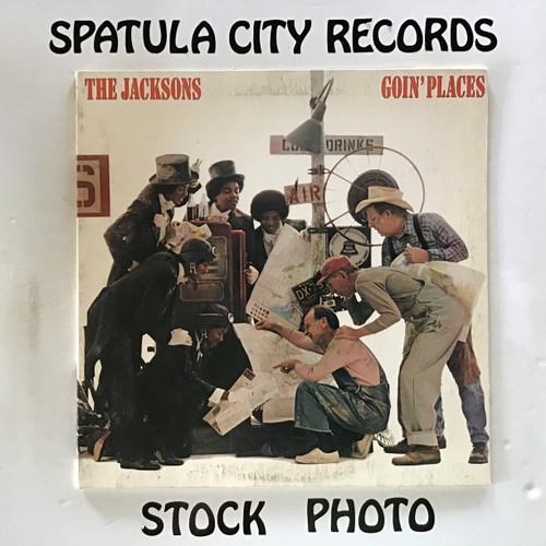 Jacksons, The - Goin' Places - vinyl record LP