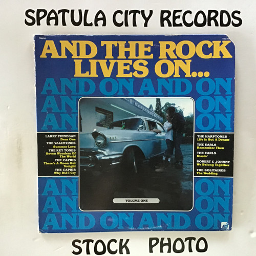 And The Rock Lives On - compilation - vinyl record LP