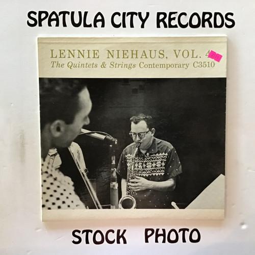 Lennie Niehaus - Vol. 4 The Quintets and Strings - vinyl record LP