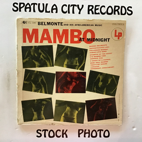 Belmonte and His Afro-American Music - Mambo at Midnight - vinyl record LP