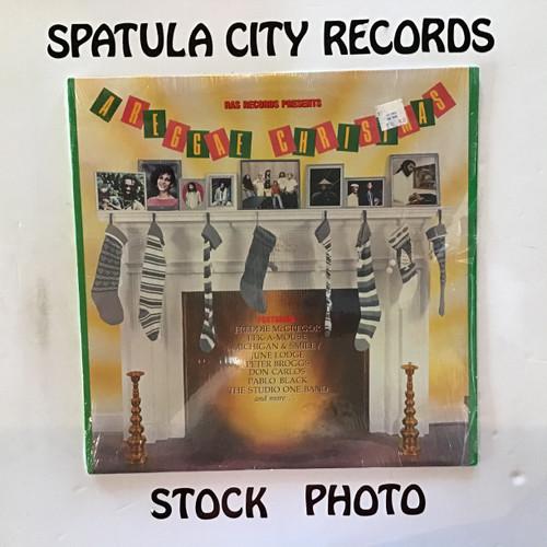 Ras Records Presents A Reggae Christmas - compilation - vinyl record LP