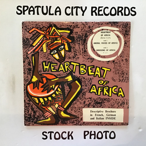 Heartbeat of Africa - Animal Voices of Africa/Birdsong of Africa - IMPORT - vinyl record LP