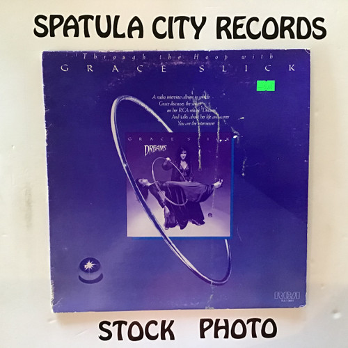 Grace Slick - Through the Hoop with Grace Slick - PROMO - vinyl record LP