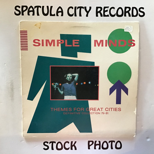 Simple Minds - Themes for Great Cities Definitive Collection 79-81 - vinyl record LP