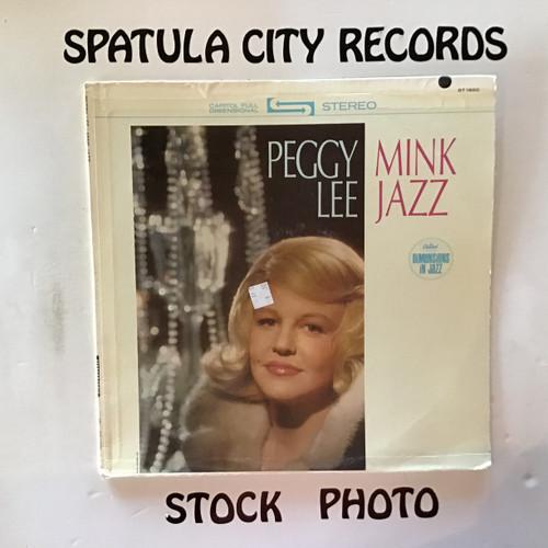 Peggy Lee - Mink Jazz - vinyl record LP