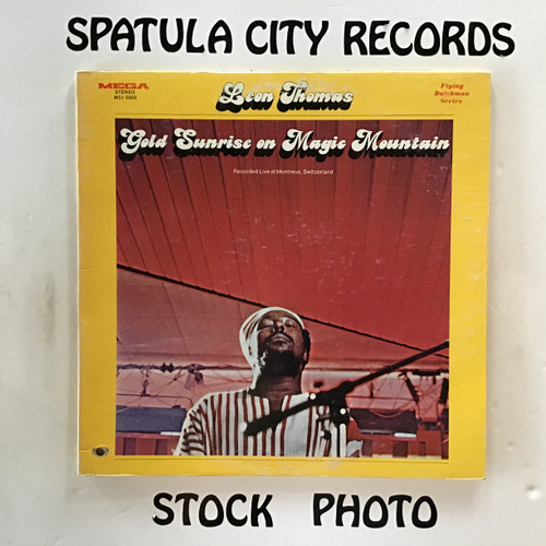 Leon Thomas - Gold Sunrise on Magic Mountain - vinyl record LP