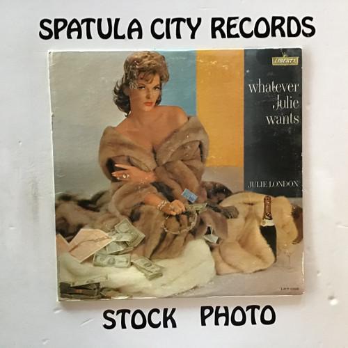 Julie London - Whatever Julie Wants - MONO - vinyl record LP