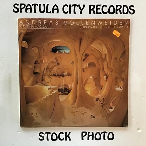 Andreas Vollenweider - Caverna Magica (...Under The Tree-In The Cave...) - vinyl record LP