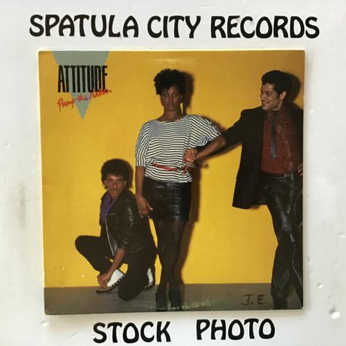 Attitude - Pump the Nation - vinyl record LP