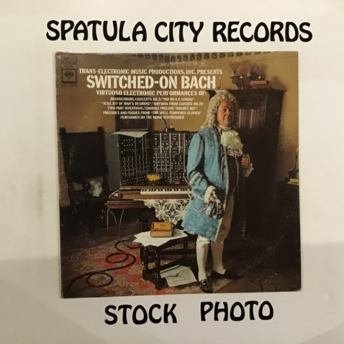 Walter Carlos - Switched-On Bach -vinyl record LP