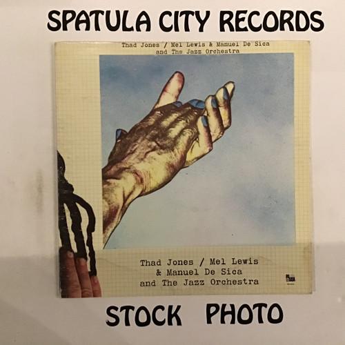Thad Jones/Mel Lewis and Manuel De Sica and The Jazz Orchestra - Thad Jones/Mel Lewis and Manuel De Sica and The Jazz Orchestra - vinyl record LP