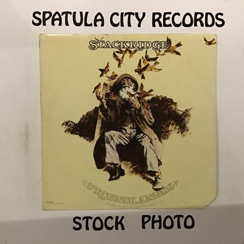Stackridge - Friendliness - vinyl record LP