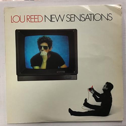 Lou Reed - New Sensations Vinyl record