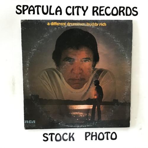 Buddy Rich - A Different Drummer - vinyl record LP