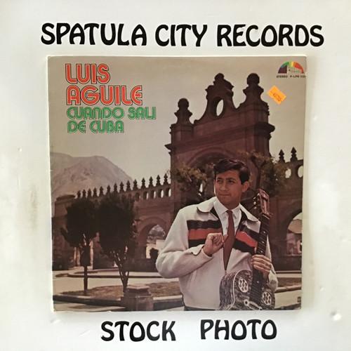Luis Aguile - Cuando Sali De Cuba - vinyl record LP