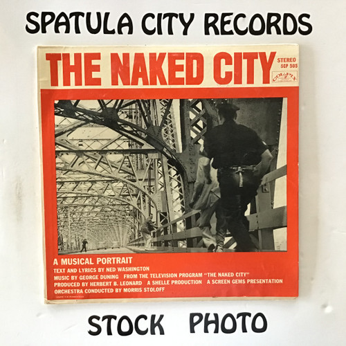George Duning - The Naked City - soundtrack - vinyl record LP