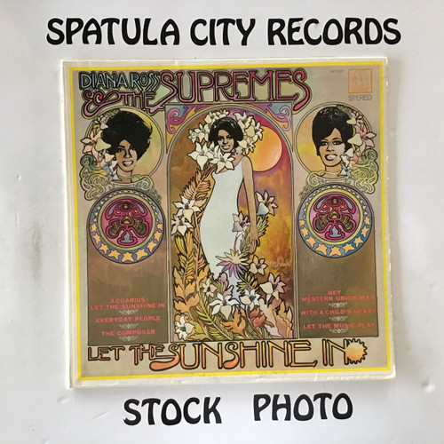 Diana Ross and The Supremes - Let The Sunshine In - vinyl record LP