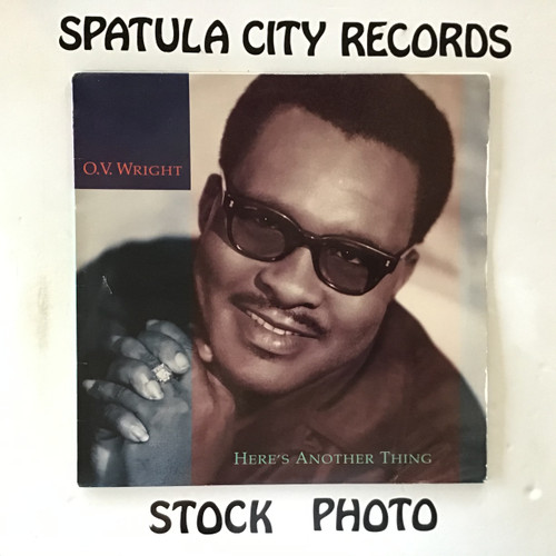 O.V. Wright - Here's Another Thing - IMPORT - vinyl record LP