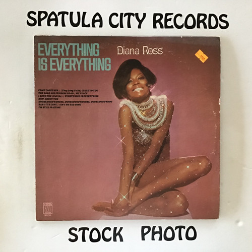 Diana Ross - Everything is Everything - vinyl record LP