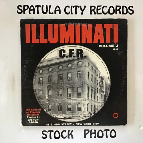 Myron Fagan - Illuminati - C.F.R. - double vinyl record LP