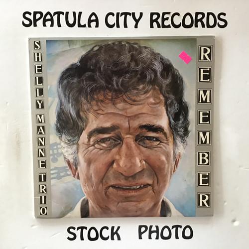 Shelly Manne Trio - Remember - vinyl record LP