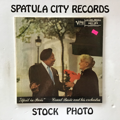 Count Basie and His Orchestra - April in Paris - MONO - vinyl record LP