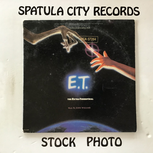 John Williams - E.T. The Extra-Terrestrial - soundtrack - vinyl record LP