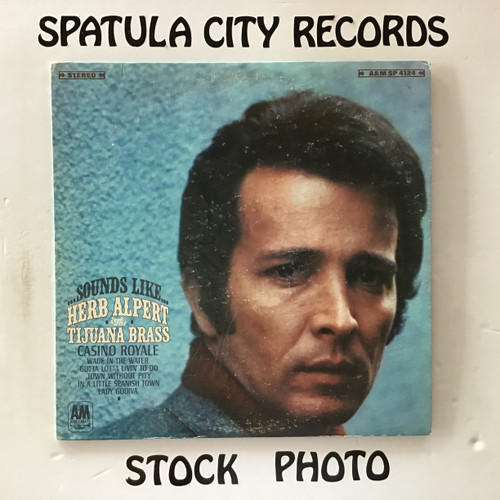 Herb Alpert and The Tijuana Brass - Sounds Like Herb Alpert and The Tijuana Brass - vinyl record LP