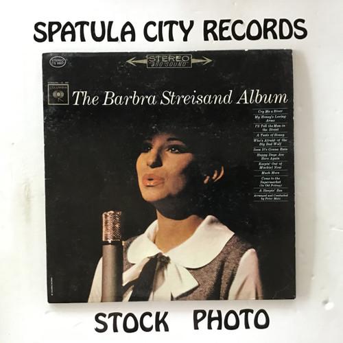 Barbra Streisand - The Barbra Streisand Album - vinyl record LP