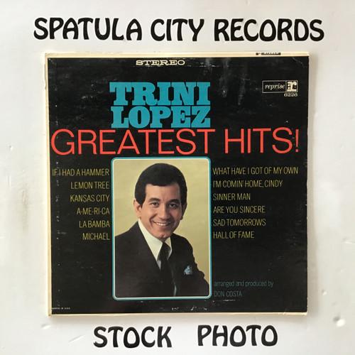 Trini Lopez - Greatest Hits - vinyl record LP