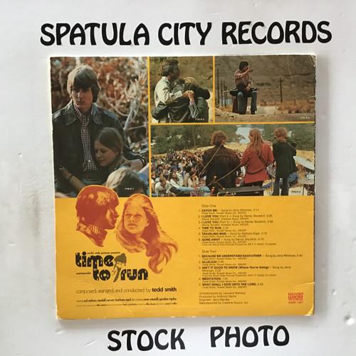 Tedd Smith - Time To Run - soundtrack - vinyl record LP
