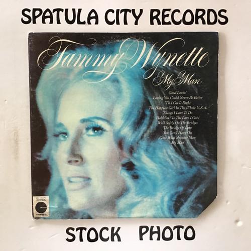 Tammy Wynette - My Man - vinyl record LP