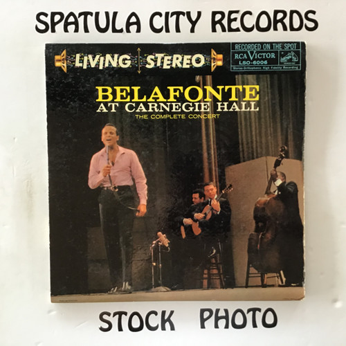 Harry Belafonte - Belafonte at Carnegie Hall - double vinyl record LP