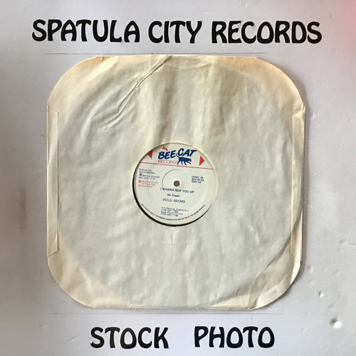 "Rula Brown and Jim Nastic - Sex You Up - 12"" vinyl record LP"