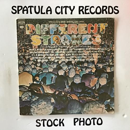 Different Strokes - compilation - vinyl record LP