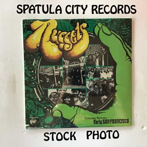 Nuggets Volume Seven: Early San Francisco - compilation - SEALED - vinyl record LP