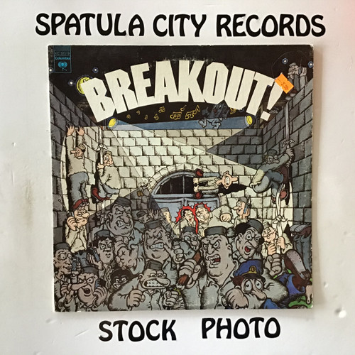 Breakout! Top 40 Hits of Today - compilation - vinyl record LP