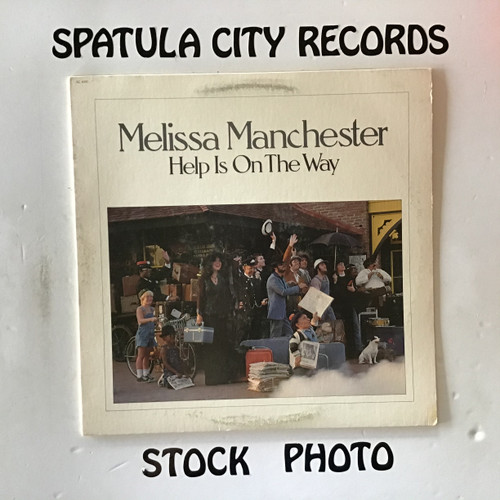 Melissa Manchester - Help Is On The Way - vinyl record LP