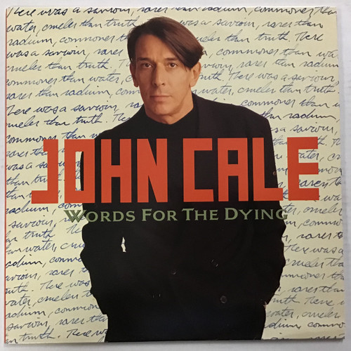 John Cale - Words for the Dying Vinyl record