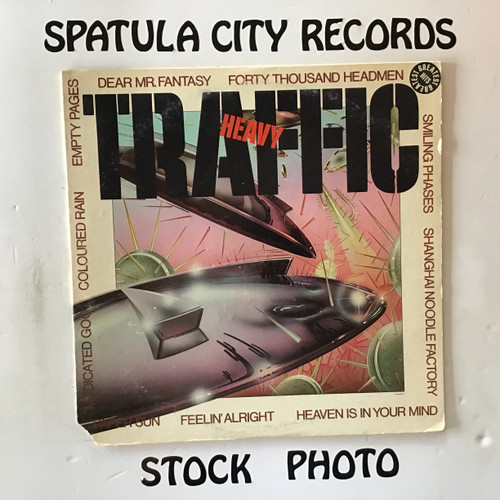 Traffic - Heavy Traffic - vinyl record LP