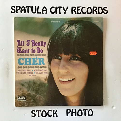 Cher - All I Really Want to Do - vinyl record LP