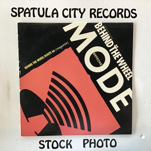 Depeche Mode - Behind The Wheel / Route 66 (megamix) vinyl record LP