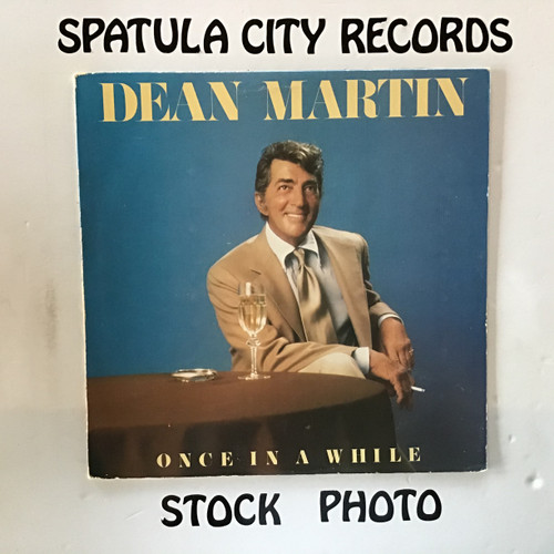 Dean Martin - Once In A While - vinyl record LP