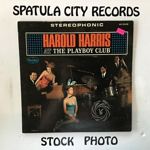 Harold Harris - At The Playboy Club - vinyl record LP
