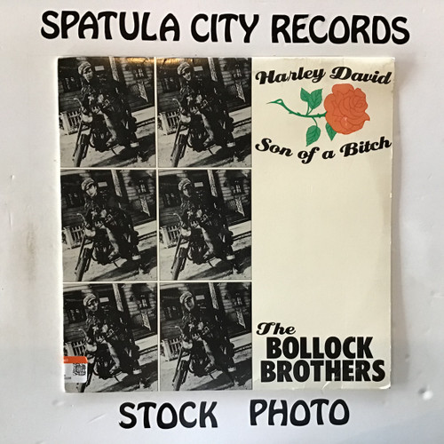Bollock Brothers, The - Harley David/Son of A Bitch - vinyl record LP